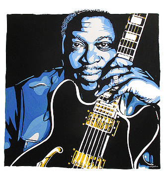 BB King by Nancy Mergybrower