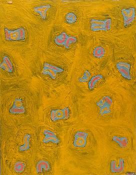 Yellow No. 11  24  x 30  2013 by Radoslaw Zipper