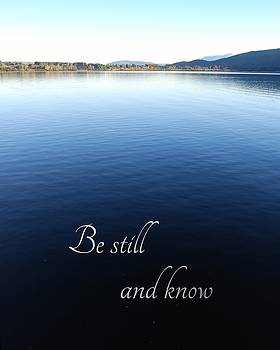 Be Still and Know by Jocelyn Friis