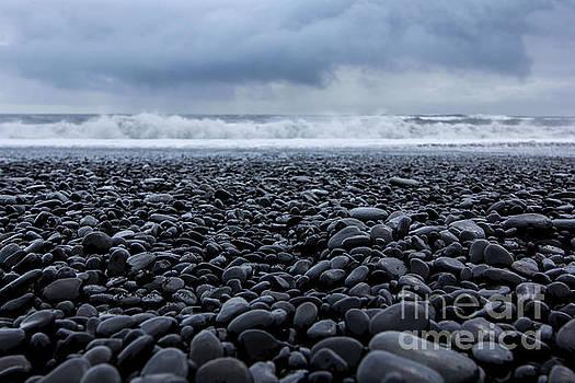 Beach at Reynisdrangar  by Jennifer Ansier