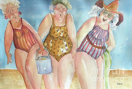 Beach Babes by Shane Guinn