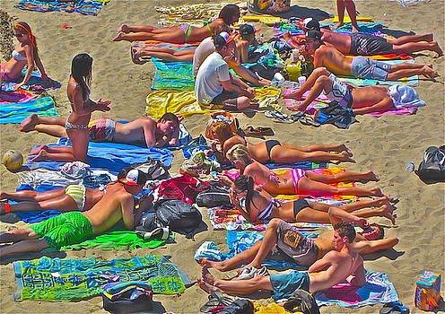 Gwyn Newcombe - Beach Blanket Bingo