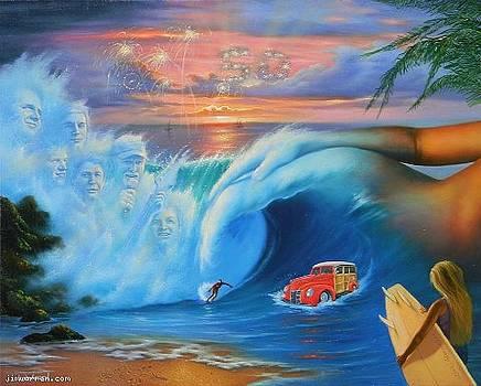 Beach Boys 50th Anniversary by Jim Warren