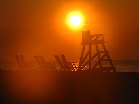 Shane Brumfield - Beach Chair Silhouette 2