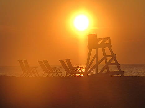 Shane Brumfield - Beach Chair Silhouette 3