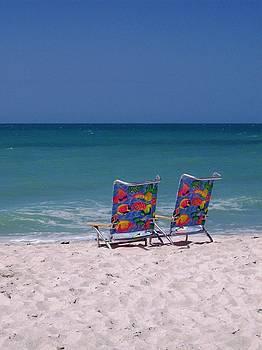 Beach Chairs by Anna Villarreal Garbis