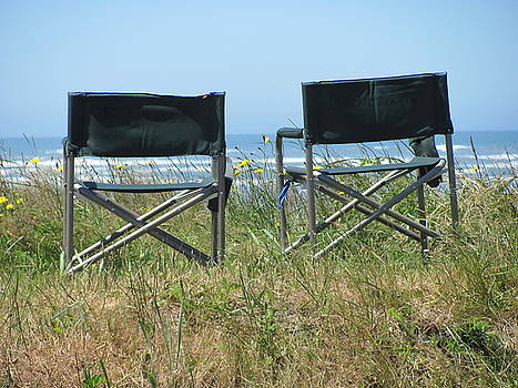 Beach Chairs by Gregory Smith