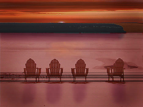 Beach chairs by Jim Wright