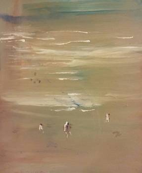 Beach Combers by Gregory Dallum