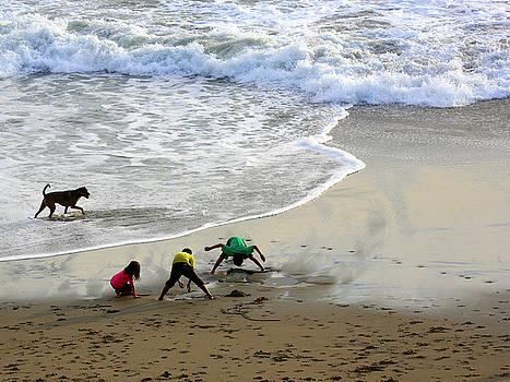Chuck Kuhn - Beach Day I