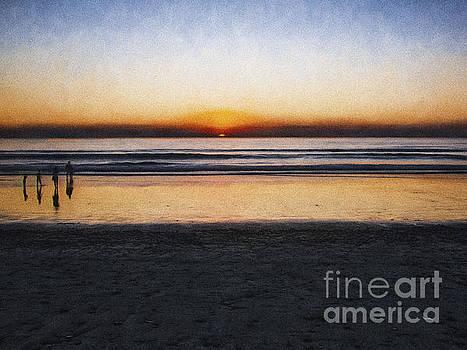 Beach Family  ... by Chuck Caramella