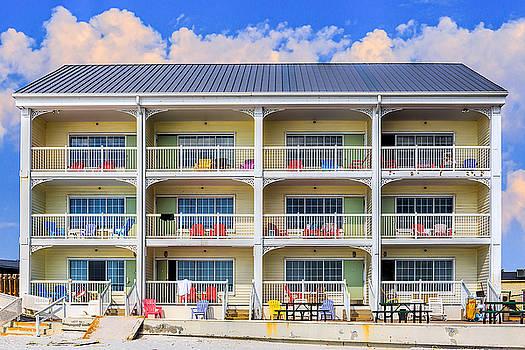 Beach Front Hotel by Robert FERD Frank