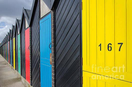 Beach hut 167 by Steev Stamford