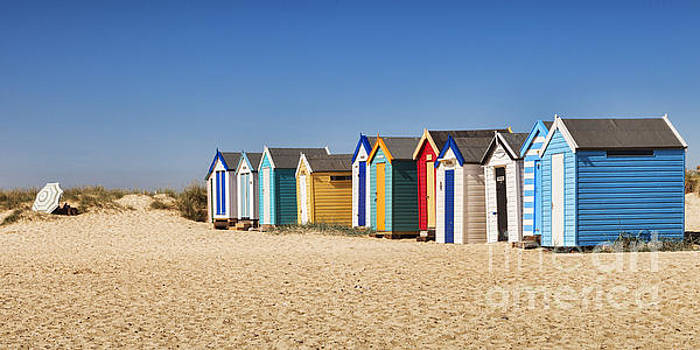 Beach Huts by Colin and Linda McKie