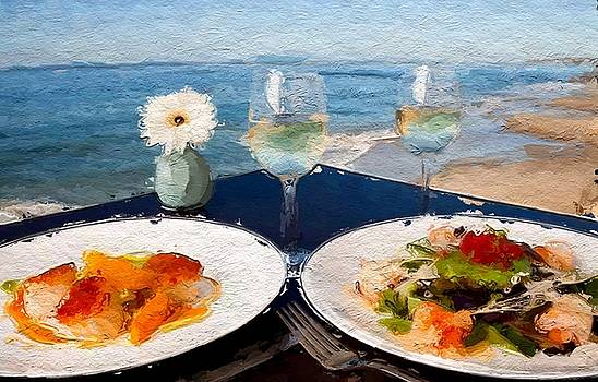 Beach lunch special  by Anthony Fishburne
