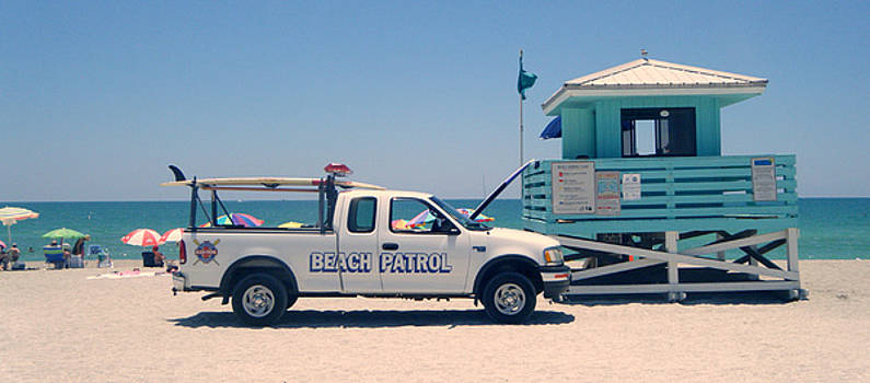 Beach Patrol by Steven Scott