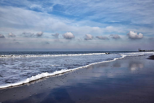 Beach Reflections by Annie  Snel