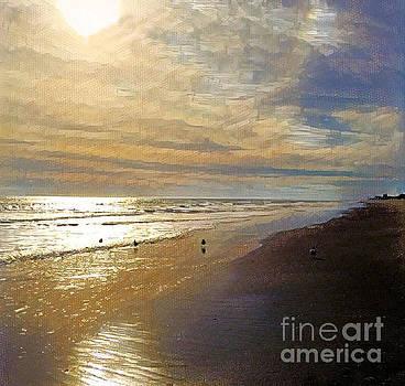 Beach Scene by Diana Chason