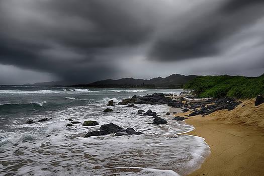 Beach Storm by Steven Michael