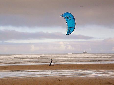 Beach Surfer by Wendy McKennon
