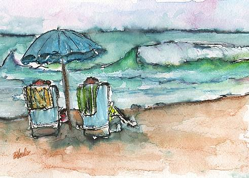 Beach Time by Bev Veals
