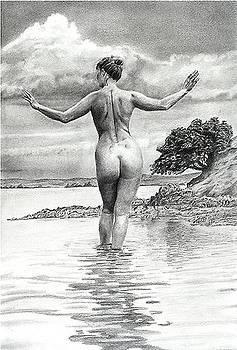 Beach Walk by Darryl Redfern