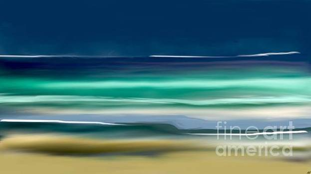 Beach Wave by Anthony Fishburne