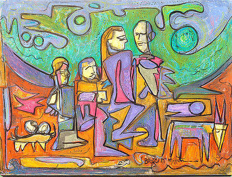 Beachwalk by Bruce McMillan