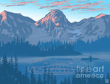 Bear Country scenic landscape by Sassan Filsoof