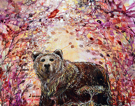 Bear with a Heart of Gold by Ashleigh Dyan Bayer
