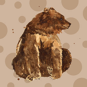 Bear Painting by Alison Fennell