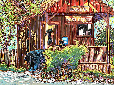 Bear Post by Nadi Spencer