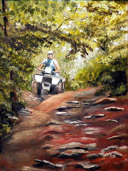 Bear Wallow Rider by Phil Burton