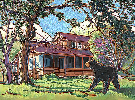 Bears at Barton Cabin by Nadi Spencer