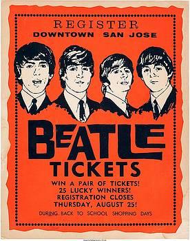 Beatle Poster by Allen Beilschmidt