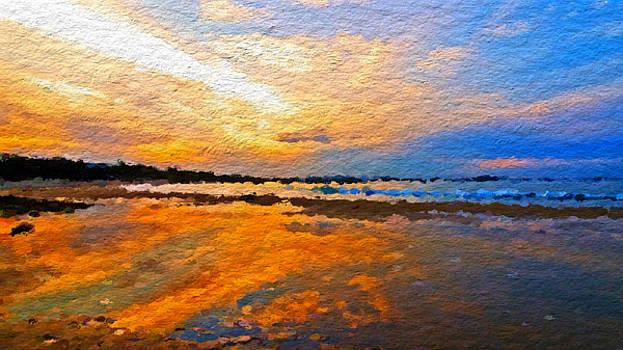 Beautiful beach day by Anthony Fishburne