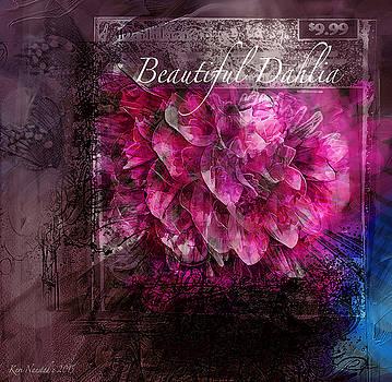 Beautiful Dahlia by Kari Nanstad