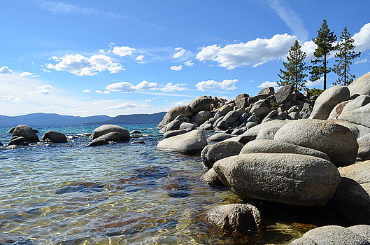 Beautiful day at Lake Tahoe by Alex King