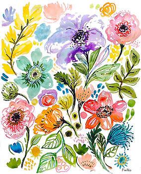 Beautiful Flowers by Karen Fields