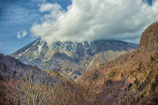 Beautiful Japanese Mountain by Maggie Magee Molino