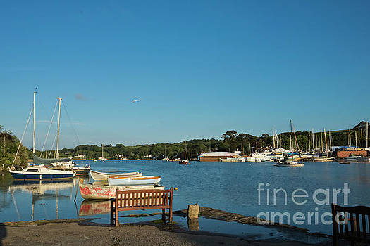 Beautiful Mylor Bridge by Terri Waters