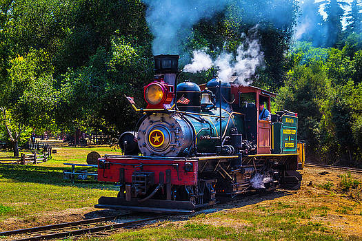 Beautiful Old Steam Train by Garry Gay