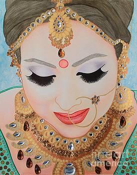 Beautiful Sikh Bride by Malinda Prudhomme