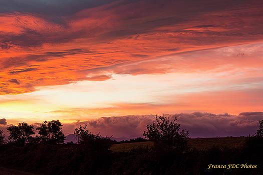 Beautiful Sky  by Francoise Dugourd-Caput