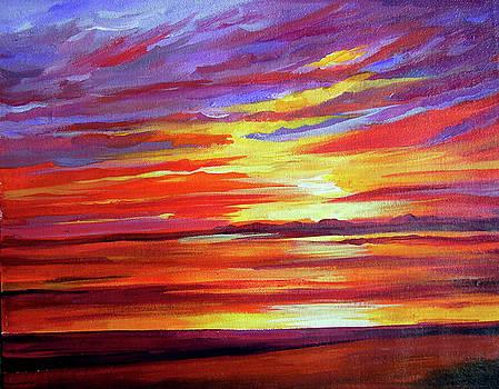 Beauty of Sunset by Samiran Sarkar