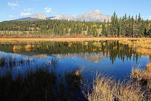 Larry Ricker - Beaver Pond and Pyramid Mountain