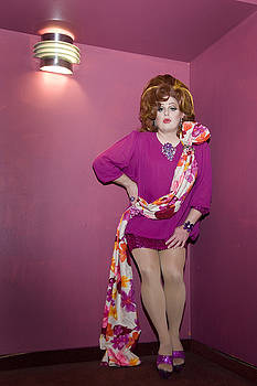 Bebe's in the Pink at the Gay 90's by Kelly Povo