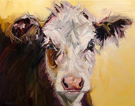 Bed Head Cow by Diane Whitehead
