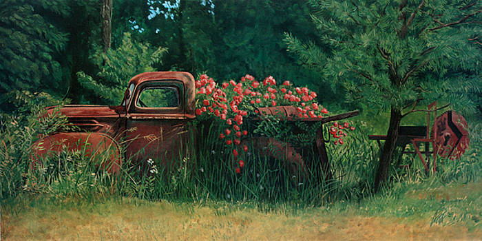 Bed Of Roses by Kevin Aita