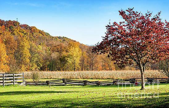 Kathleen K Parker - Bedford, PA Fall Landscape